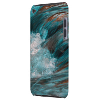 red & blue water iPod touch Case-Mate case