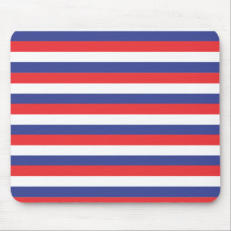 Red Blue White Mousepad