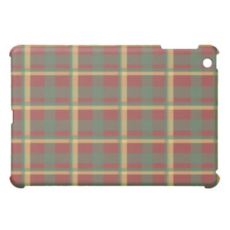 Red Blue Yellow Plaid Case For The iPad Mini