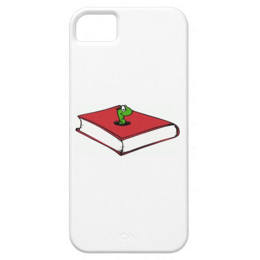 Red Book Worm iPhone 5 Cases