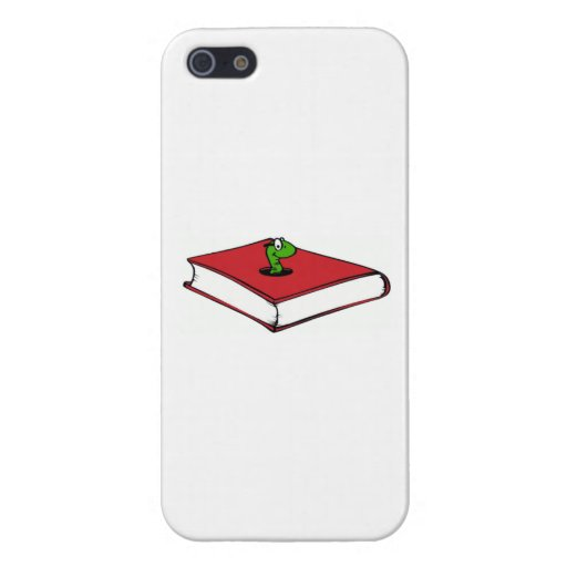 Red Book Worm iPhone 5 Covers