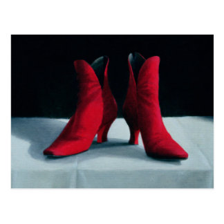 Red Boots 1995 Postcard