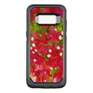 Red Bougainvillea Flowers OtterBox Commuter Samsung Galaxy S8 Case