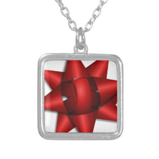 red bow holiday gift ribbon party shower office pendants