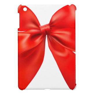 Red bow tie design cover for the iPad mini