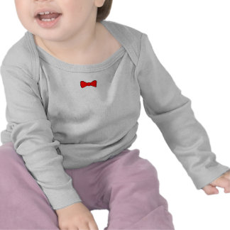 Red Bow Tie Tshirts