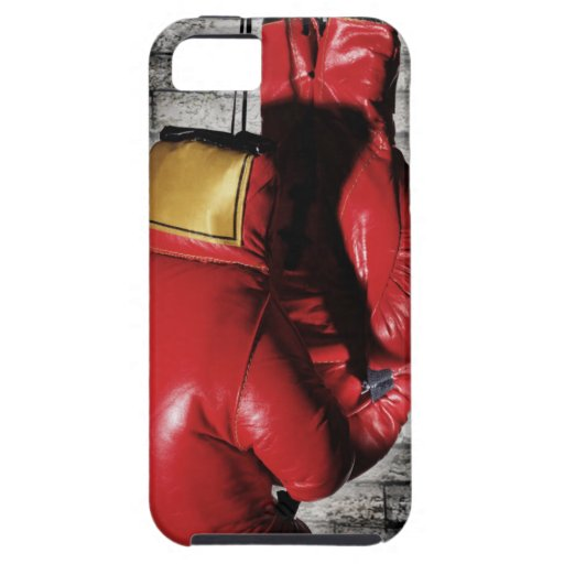 Red Boxing Gloves Case Cover iPhone 5 Cases