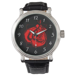 Red Boxing Gloves Watch
