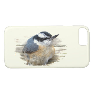 Red-breasted Nuthatch Bird iPhone 7 Case