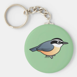 Red-breasted Nuthatch Keychain