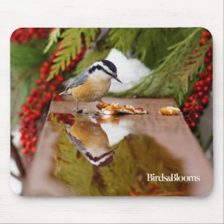 Red-breasted Nuthatch Mouse Mat