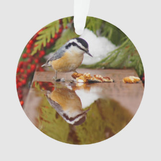 Red-breasted Nuthatch Ornament