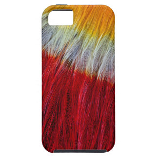 Red Breasted Toucan Feather Abstract iPhone 5 Cover