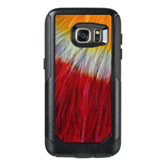 Red Breasted Toucan Feather Abstract OtterBox Samsung Galaxy S7 Case