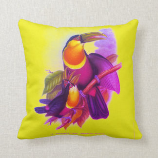 Red-Breasted Toucan Throw Pillow