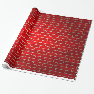 Red Brick Background Gift Wrap