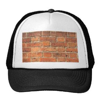 Red brick wall cap