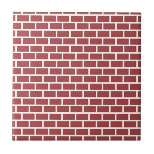 Red Brick Wall Decor : Red brick wall design zazzle