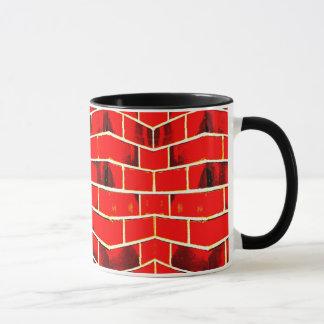 Red Brick Wall Mug