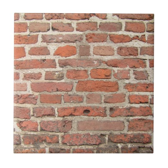 Red Brick Wall Structure Tile