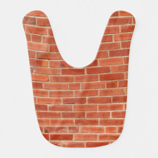 Red Brick Wall Texture Background Bib