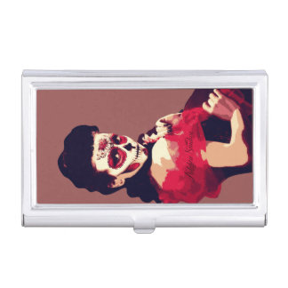 Red Bride Card Holder Business Card Cases