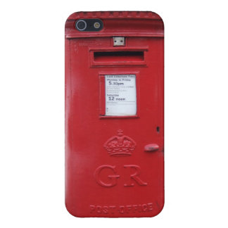 Red British Post box Case For iPhone 5/5S