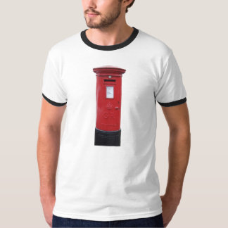 Red British Post box T-Shirt