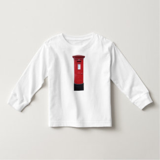 Red British Post box Toddler T-Shirt