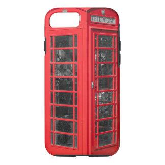 Red British Telephone Box iPhone 7 Case