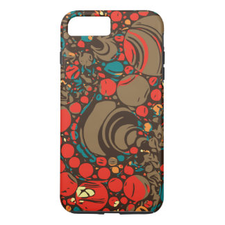 Red Brown Orange Abstract iPhone 8 Plus/7 Plus Case