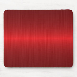 red brushed metal mouse mat