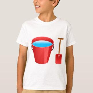 Red Bucket & Spade T-Shirt