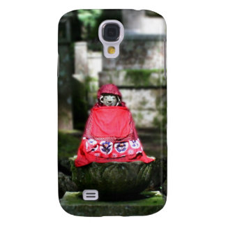 Red Buddha / Jizo in Forest Galaxy S4 Case