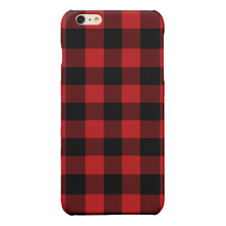 Red Buffalo Plaid iPhone 6 Plus Case