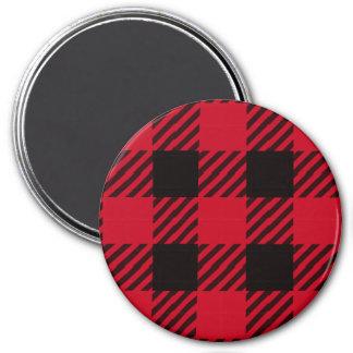 Red Buffalo Plaid Magnet
