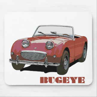 Red Bugeye Mouse Mat