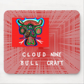 RED Bull : Cloud9 BullCraft Mouse Pad