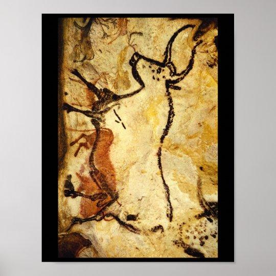 Red Bull', Lascaux, Dordogne_Art of Antiquity Poster