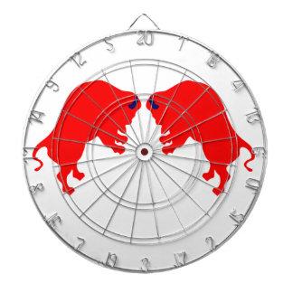 Red Bulls Metal Cage Dartboard