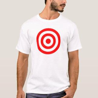 Red Bullseye Target T-Shirt