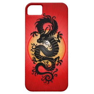 Red Burst Chinese Dragon iPhone 5 Cover