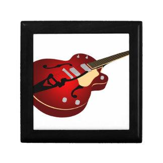 Red Burst Guitar Gift Box