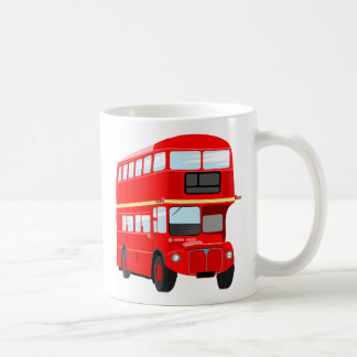 Red Bus Coffee Mug