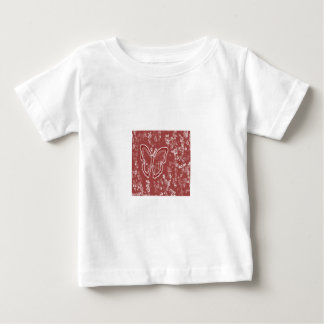 Red Butterfly Baby T-Shirt