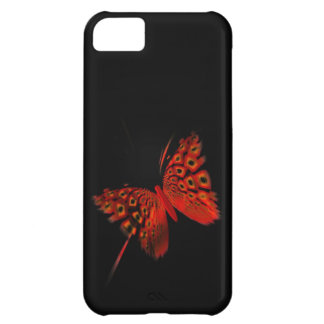 Red Butterfly iPhone 5C Case
