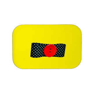 Red Button Lunch Box