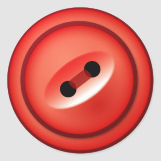 Red Button Stickers