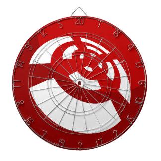 Red Button Wireless Signal Dartboards