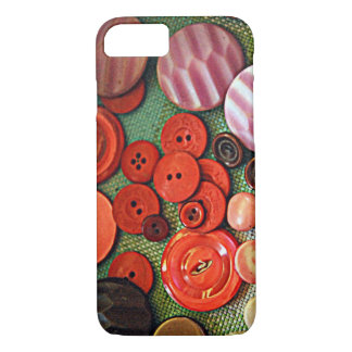 Red Buttons iPhone 8/7 Case